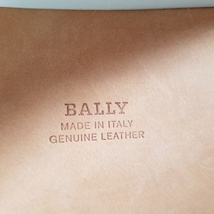 Bally Accessories - Gorgeous wide real leather belt.